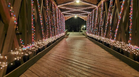 Get In The Holiday Spirit At Ada Village Winter Wonderland