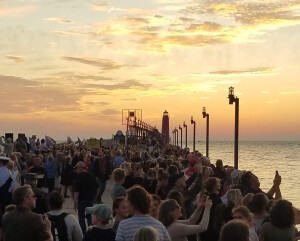 Grand Haven Sunset 2019 Catwalk Ceremony