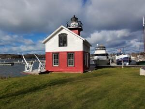 Kalamazoo River Lighthouse Replica Douglas Michigan