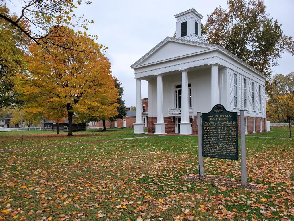 Berrien Springs Courthouse, November