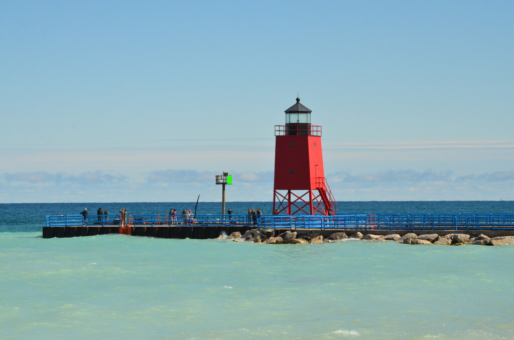 Charlevoix South Pier Lighthouse, June