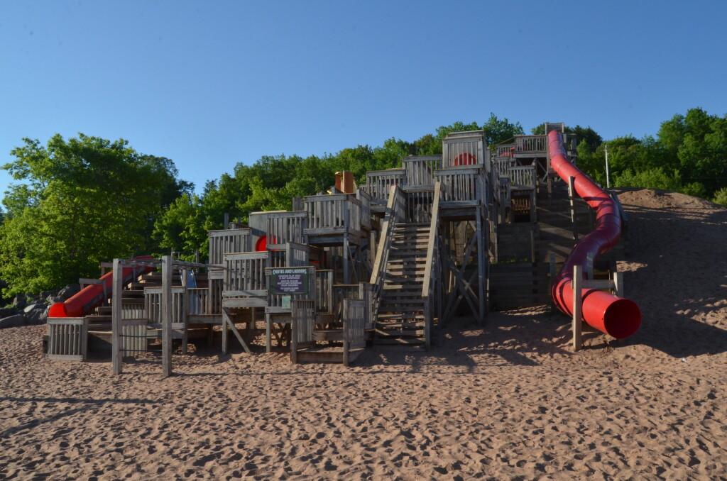 Chutes and Ladders Playground, Houghton, June