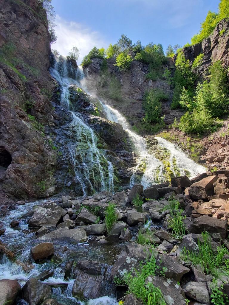 Douglass Houghton Falls, June