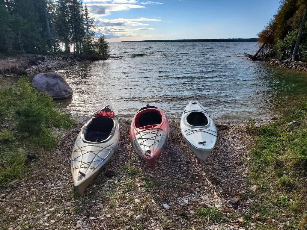 Drummond Island Kayaking, September