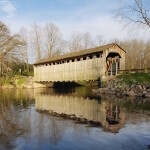 Michigan's Oldest Covered Bridge Turns 150 This Year