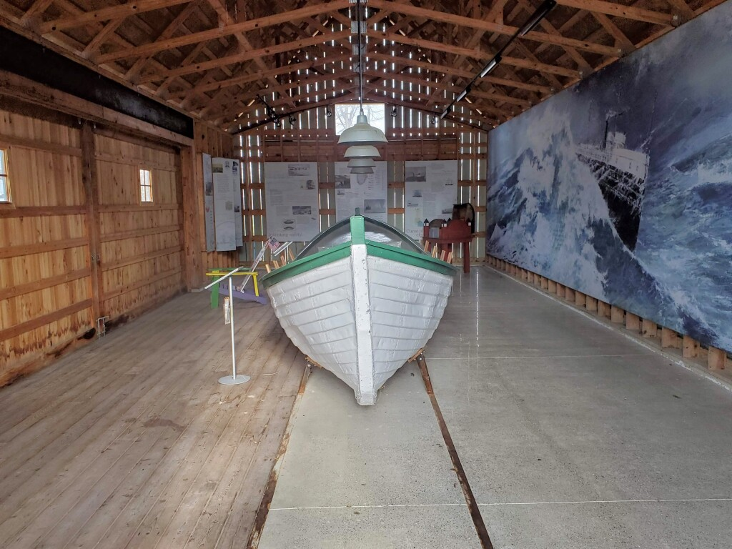 Francis Metallic Surfboat, Douglas, November