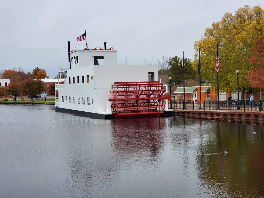 Progress continues on the new Lowell Showboat, October