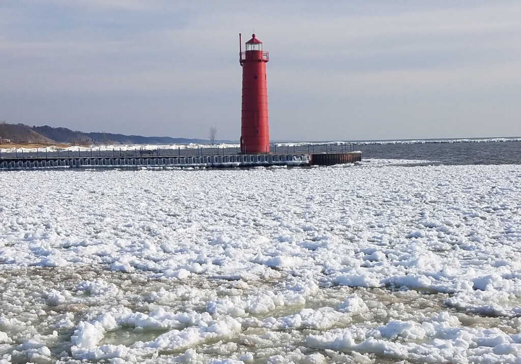 Winter at Muskegon State Park, March