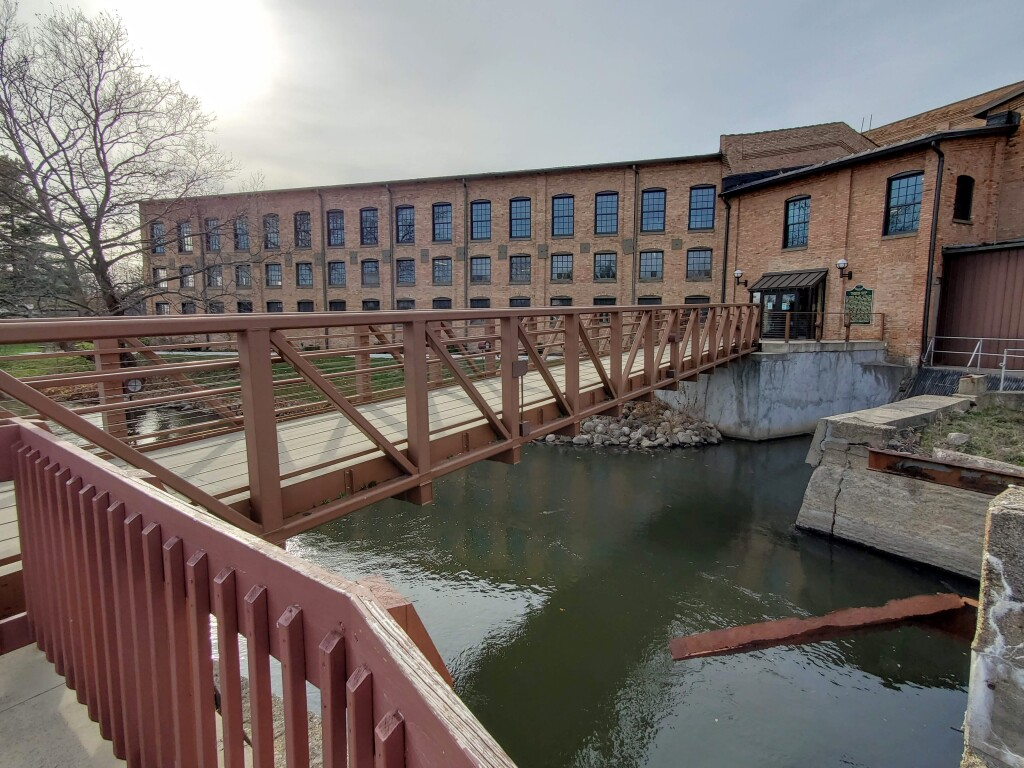 Plainwell Michigan Paper Company Mill and City Hall, November