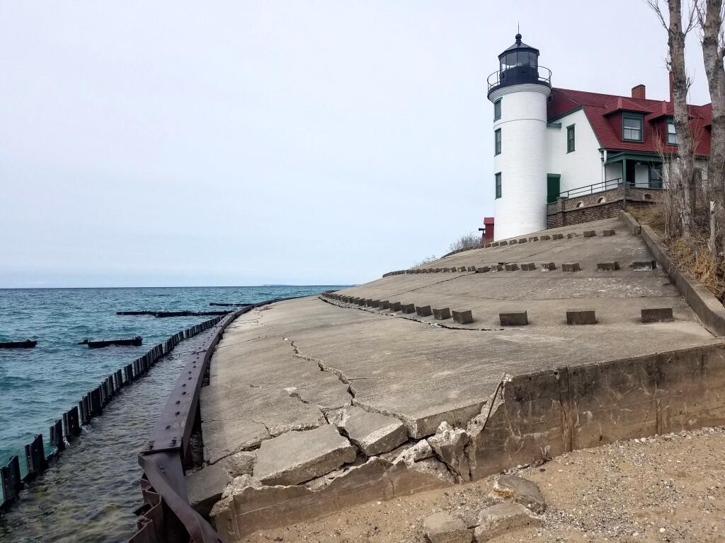 Point Betsie Lighthouse, April