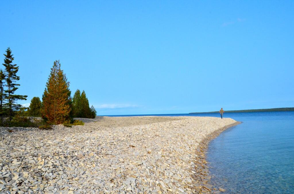 Shale Beach, Drummond Island, September