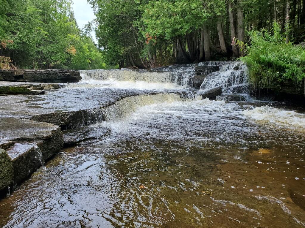 Whitefish Falls, Trenary, August