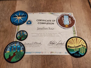 North Country Trail Hike 100 Challenege Awards