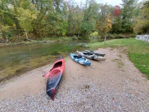 Pine River Kayak Peterson Bridge Launch Site
