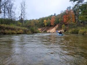Pine River Kayak Trip Paddling Michigan 2020
