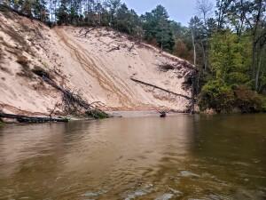 Pine River Kayak Trip Sand Bank