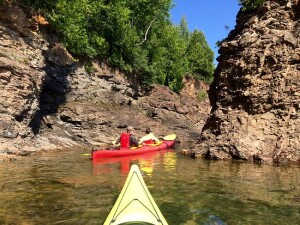 TruNorth Adventures used to offer kayak trips in the area