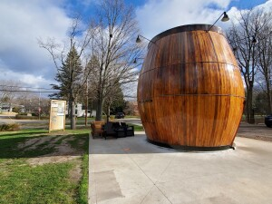 Douglas Root Beer Barrel Michigan Roadside Attractions