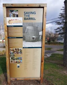 Douglas Root Beer Barrel Restoration Project