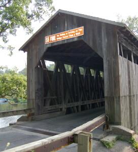 Fallasburg Covered Bridge $5 Fine