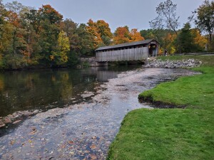 Fallasburg Covered Bridge Fall 2020