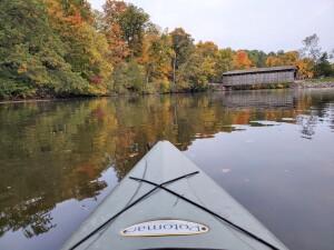 Fallasburg Covered Bridge Fall Kayak 2020