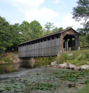 Fallasburg Covered Bridge Flat River Lowell