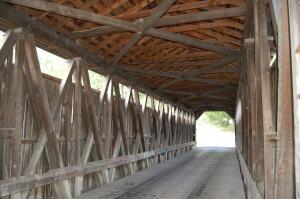 Fallasburg Covered Bridge Inside