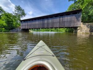 Fallasburg Covered Bridge Summer 2020