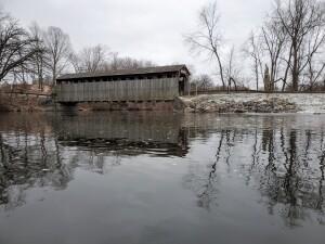 Fallasburg Covered Bridge Winter 2020