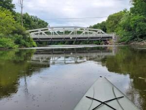 Flat River Burroughs Bridge kayak trip