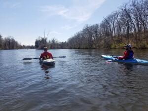Flat River kayak trip