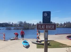 Lowell Flat River kayak launch