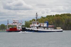 Rotary Island Park Sault Ste. Marie Tugboat Sugar Island Ferry