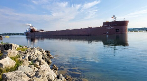 Rotary Island Park, Sault Ste. Marie - Freighters and Family Fun