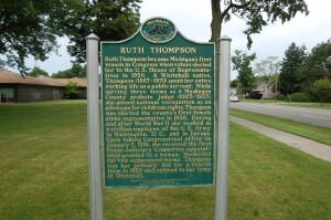 Ruth Thompson Whitehall Michigan Women