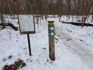 Seidman Park Kent County Ada Winter Recreation