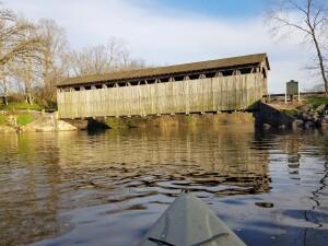 Flat River Kayak Belding Fallasburg Covered Bridge