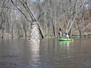 Flat River Kayak Belding Lighthouse Michigan