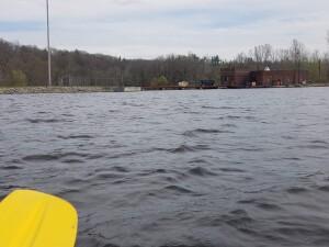 Flat River Kayak Whites Bridge Dam