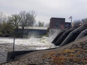 Flat River Kayak Whites Bridge Dam Michigan