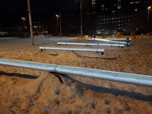 Impulse on Monroe World of Winter Grand Rapids Seesaws