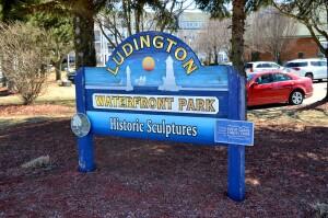 Waterfront Park Ludington Michigan Sculpture Trail