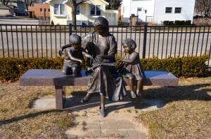 Double the Fun Mason County Sculpture Trail Ludington Library