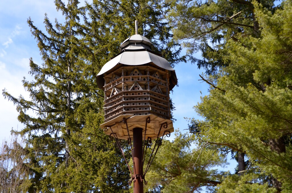 McCourtie Park Michigan Birdhouse Detail