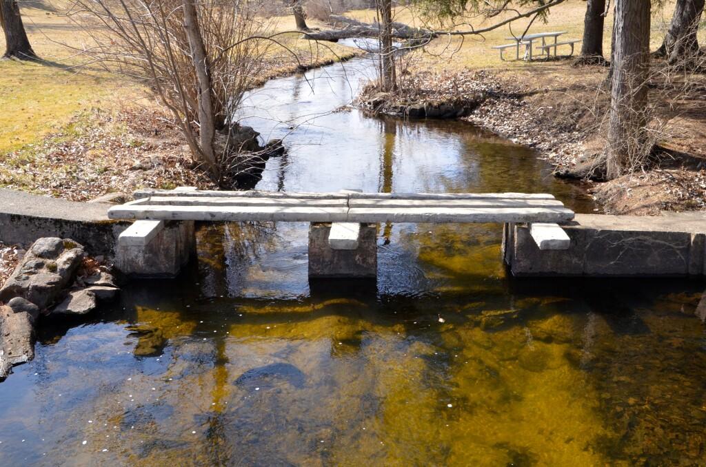 McCourtie Park Slab Bridge Somerset Center Michigan
