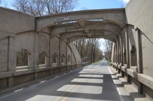 Pine Island Drive Bridge Interior Michigan
