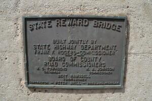 Pine Island Drive Reward Bridge Plaque