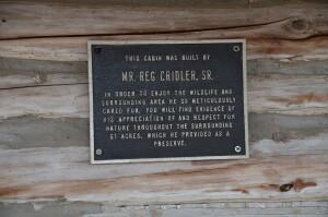 Wege Foundation Natural Area Reg Cridler Cabin