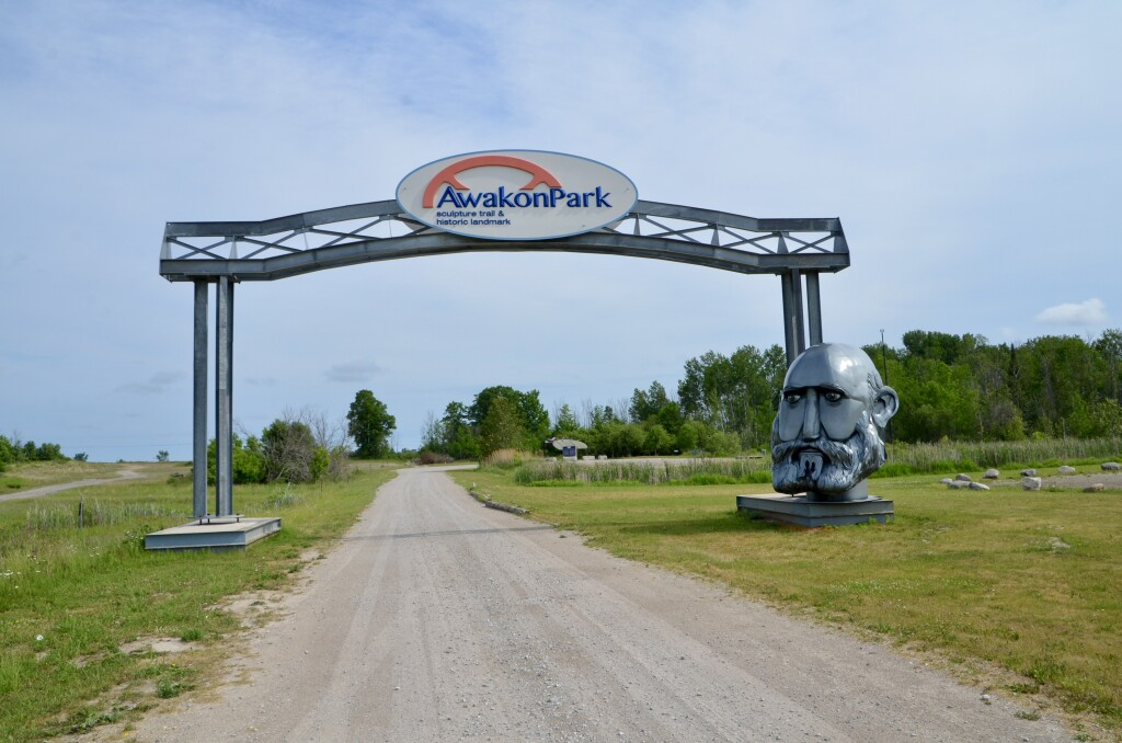 Awakon Park Entrance Onaway Michigan